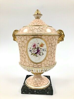 A Lovely C.1810. Chamberlain Worcester 2 Handled Vase And Cover • 525£