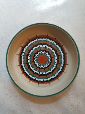 Vintage Hornsea Pottery Small Muramic Trinket Pin Dish 1970s • 7£