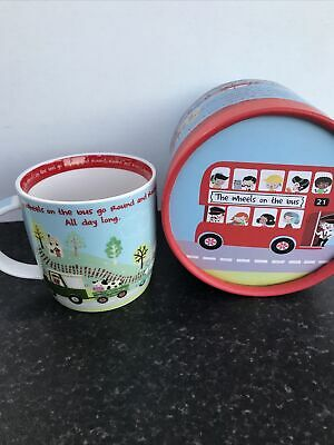 Queens Wheels On The Bus Mug Boxed • 6.50£