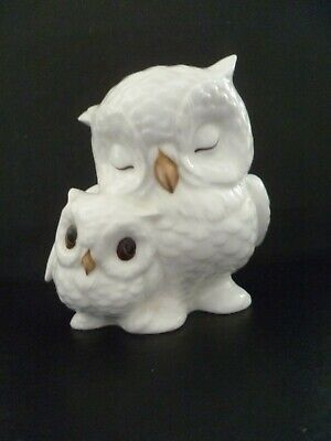 Cute Royal Osborne Owl Ornament- Mother And Chick • 7.99£