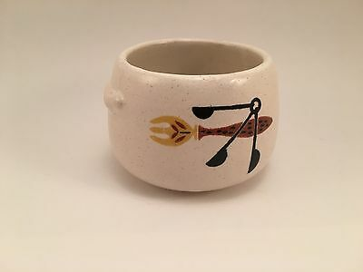 Vintage Westbend Soup Cup Crock Bowl Made In USA • 3.58£