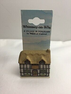 Vintage Wade Whimsey-on-wye - The Why Knot Inn On Original Card • 3£