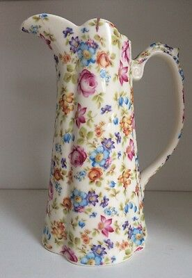 LORD NELSON WARE Floral Design Pitcher Jug • 29.95£