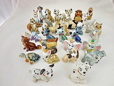 Wade Disney, Hatbox, Whimsies 1956-65 + 1981-87 Many To Choose From. (Perfect) • 13.99£