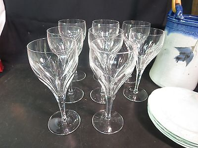Set Of 6 Lovely Villeroy & Boch Adeline 7-1/2   Wine Glasses • 74.73£
