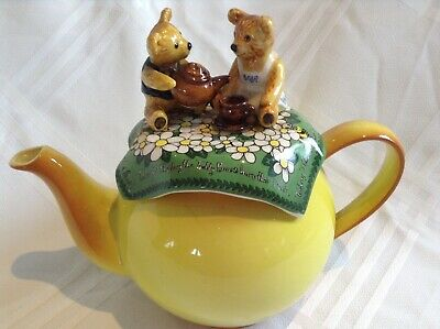 Cardew Collectable Novelty Lge Teapot Original Teddy Bears Picnic Perfct Condton • 30£