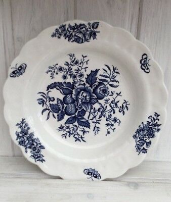 Vintage Booths Peony Rimmed Soup/bowl 8.5 Inches • 10£