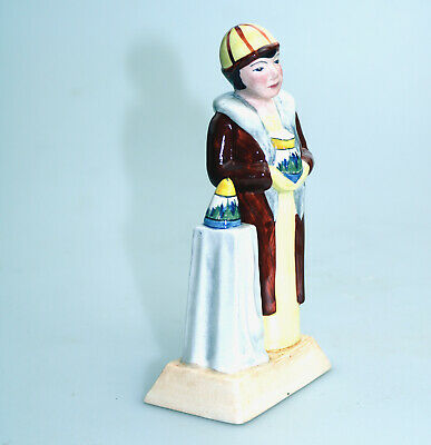 Vintage British Art Pottery Manor Limited Edition Figure Clarice Cliff C.20thC • 29£