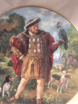 BN Royal Doulton Plate Collectors Gallery Edition KING HENRY VIII PN 98 • 57£