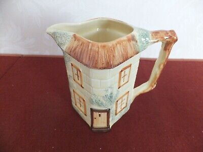 KEELE ST.POTTERY COTTAGE WARE Large Water Jug • 9.50£