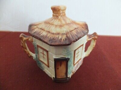KEELE ST.POTTERY COTTAGE WARE Sugar Bowl • 9£