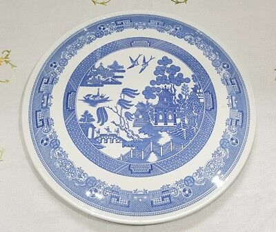Spode Willow Pattern Blue Room Collection Gateau Cake Serving Plate Excellent  • 17.95£