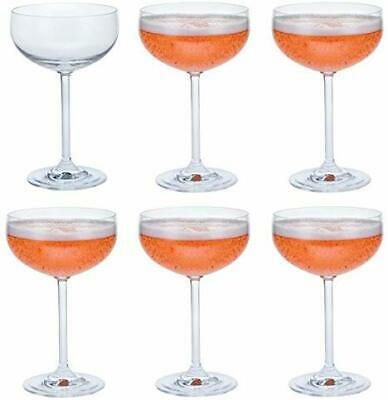 Dartington Crystal Party Pack Champagne Saucer (6 Pack) • 28.50£