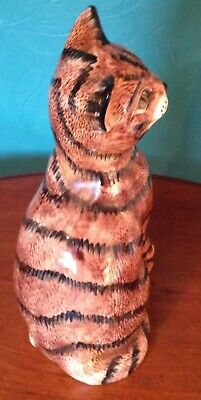Price Kensington Fireside Wistful Tabby Cat 30cm Exc Condition • 25£