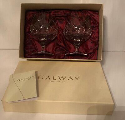 Galway Irish Crystal Set Of Two Glasses  • 19.95£