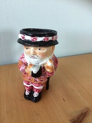 Vintage Beefeater Toby Jug Shorter And Sons Staffordshire Collectable Ceramic • 20£