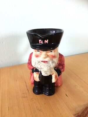 Vintage Chelsea Pensioner Toby Jug Shorter And Sons Staffordshire Collectable • 17£