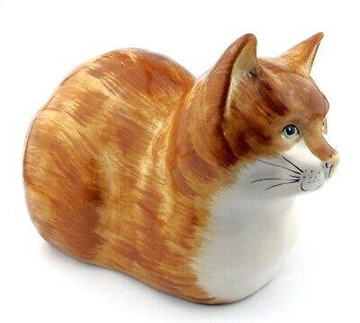 BABBACOMBE POTTERY LARGE CAT - HAND DECORATED By PHILIP LAURESTON - 11  1308gram • 39.95£