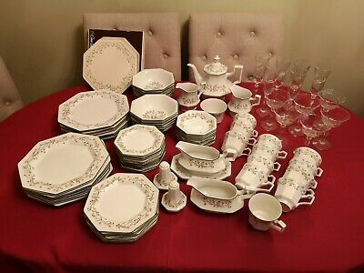 Johnson Brothers Eternal Beau Table Serving Ware And Glasses Various Items • 8.99£
