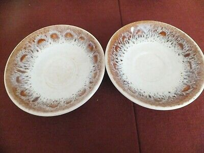 Fosters Pottery Honeycomb  Saucer X 2 • 4.50£