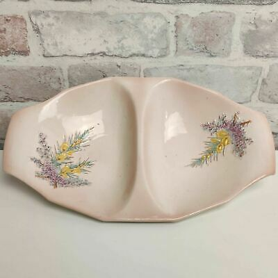 Vintage Beswick England Pink Floral Two Part Serving Dish  • 18.99£