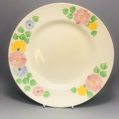 Very Pretty Vintage Ridgways Bedford Ware Plate Hand Painted Multi Daisy Flowers • 5.99£
