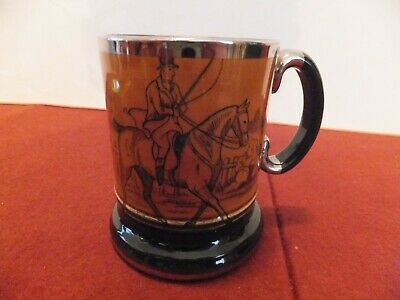 Vintage Arthur Wood Tankard Ye Olde Coaching & Hunting Days • 9.50£