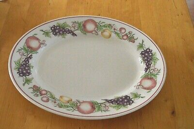 Boots Orchard 30cm Oval Steak Plate • 8£