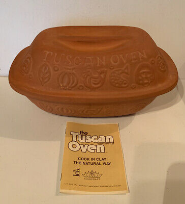 Kingcraft The Tuscan Oven Terra Cotta Clay - Vintage  • 48£