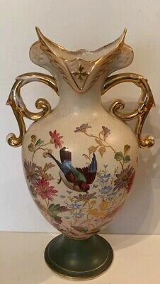 Antique Hand Painted Vase  • 68£