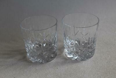 Two Galway Glass Tumblers • 15£