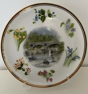 Glyn Coch Designs THE WILD FLOWERS OF CARDIGANSHIRE Jean Evans Collectors Plate • 12£
