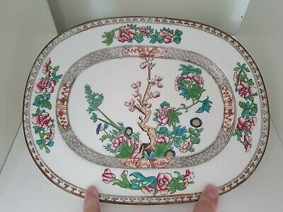 Coalport England  Indian Tree  Serving Plate 1750 Bone China • 7.99£