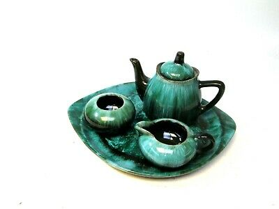 Blue Mountain Canadian Pottery Four Piece Tea Set • 40£