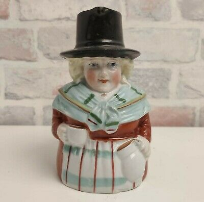 Vintage Traditional Welsh Lady Toby Character Jug  • 17.99£