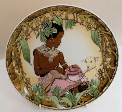 Villeroy & Boch Unicef  'Children Of The World' No.3 Plate (D4) • 2.99£