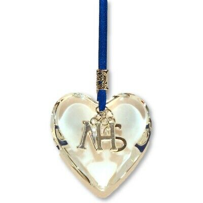 Nhs Glass Hanging Heart Great Thank You Gift • 6.95£