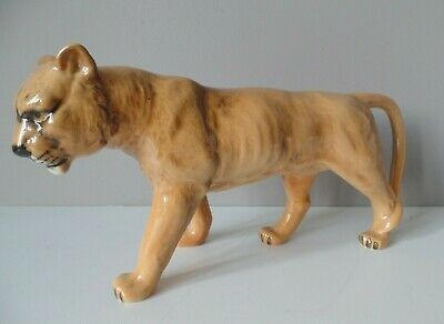 Beswick Pottery Lioness Facing Left Model 1507 Golden Brown Gloss • 29.99£