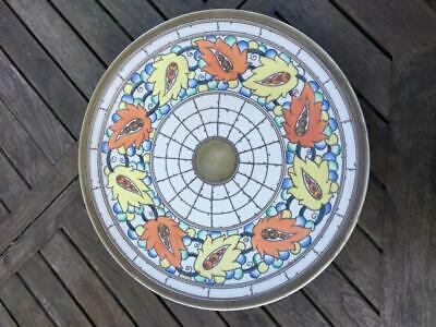 Crown Ducal Signed 17  Charlotte Rhead Charger 5623 Pattern  PERFECT C1939 • 225£