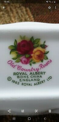 Royal Albert Old Country Roses Dish.  Perfect Condition  • 5£
