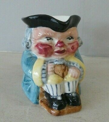 Vintage Clarice Cliff Toby Jug Newport Pottery 869 6.5 Cms • 19.99£