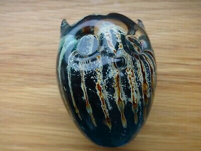 Vintage Mdina Glass Owl Paperweight • 14£