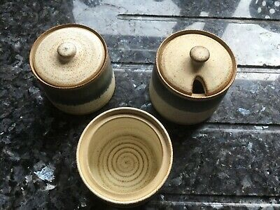 Hand Made Pottery Storage Jars  For The Kitchen • 6.99£