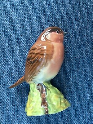 Lovely Beswick Robin, Hand Painted, Mint Condition • 9.50£