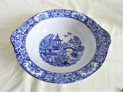 Blue  And  Willow  Pattern  Bowl  • 3.50£