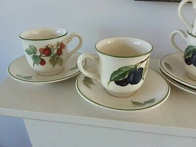 Keltcraft By Noritake Paradise 4 Off Tea Cups And Saucers • 5£