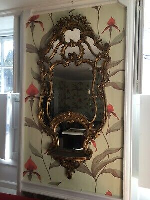 Stunning Antique Shelved Mirror • 99£