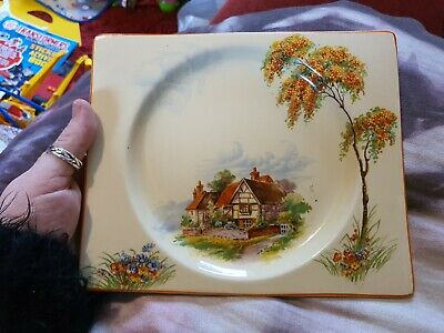 Clarice Cliff Royal Staffordshire  The Biarritz  • 5£