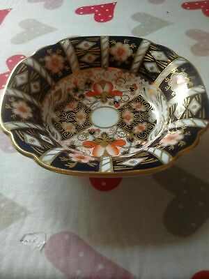 Royal Crown Derby Imari Pattern Small Round Fluted Edge Dish Rd 758225 Circa 193 • 15£