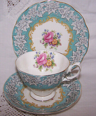 Royal Albert Enchantment Trio Cup Saucer Side Plate • 12.99£